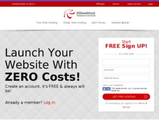 webmail.2freehosting.com screenshot