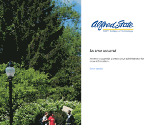 webmail.alfredstate.edu screenshot