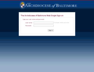 webmail.archbalt.org screenshot