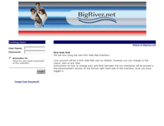 webmail.bigriver.net screenshot