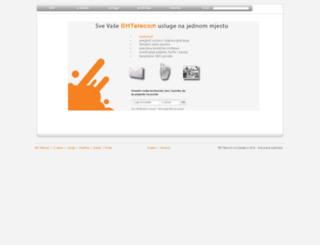 webmail.bih.net.ba screenshot