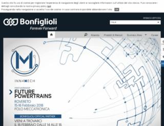 webmail.bonfiglioli.com screenshot