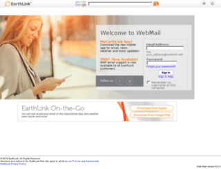 webmail.c.earthlink.net screenshot
