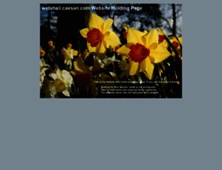 webmail.caesan.com screenshot