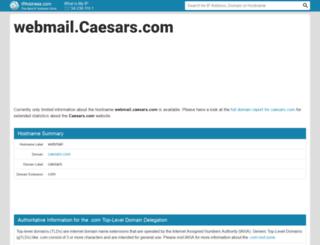 webmail.caesars.com.ipaddress.com screenshot