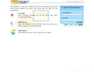 webmail.cbn.net.id screenshot