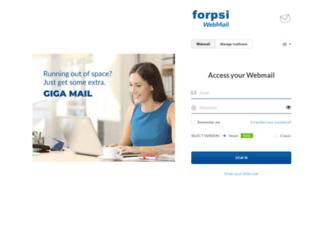 webmail.chadalik.cz screenshot