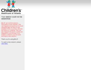 webmail.choa.org screenshot