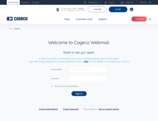 webmail.cogeco.ca screenshot
