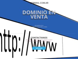 webmail.com.ar screenshot