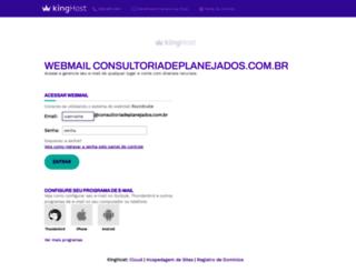 webmail.consultoriadeplanejados.com.br screenshot