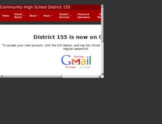 webmail.d155.org screenshot