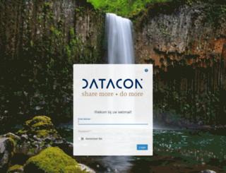 webmail.datacon.nl screenshot