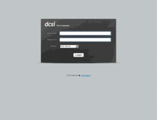 webmail.dcsi.net.au screenshot
