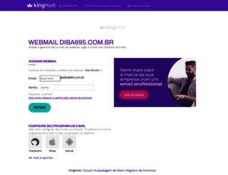 webmail.diba695.com.br screenshot