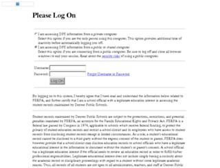 webmail.dpsk12.org screenshot