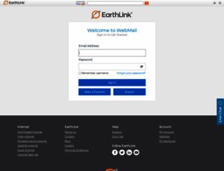 webmail.earthlink.net screenshot