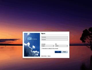 webmail.ecb.ir screenshot