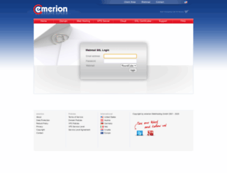 webmail.emerion.com screenshot