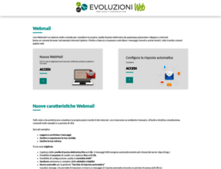webmail.evoluzioniweb.it screenshot