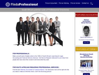 webmail.findanadvisor.co.za screenshot