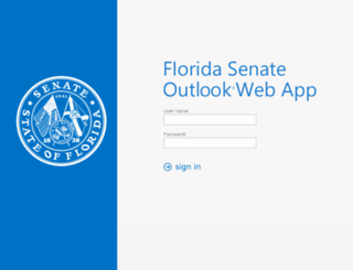 webmail.flsenate.gov screenshot