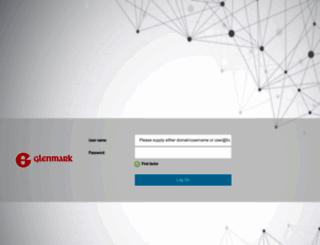 webmail.glenmarkpharma.com screenshot