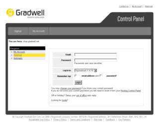 webmail.gradwell.com screenshot
