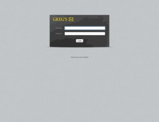 webmail.gregsdrivingschool.net screenshot