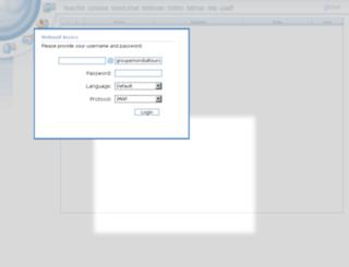 webmail.groupemondialtours.net screenshot