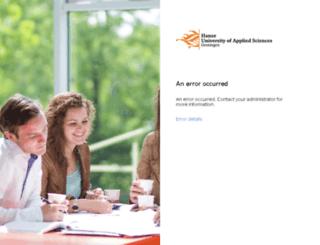 webmail.hanze.nl screenshot