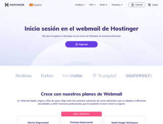 webmail.hostinger.es screenshot