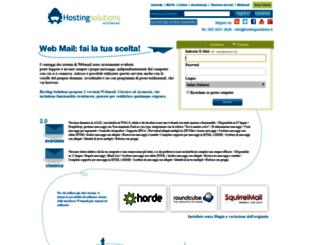 webmail.hostingsolutions.it screenshot