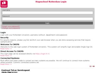 webmail.hro.nl screenshot