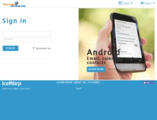 webmail.ica.net screenshot