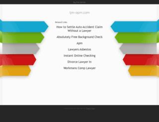 webmail.ijm-apm.com screenshot