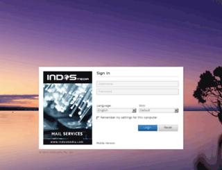 webmail.indos.es screenshot