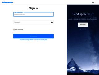 webmail.infomaniak.com screenshot
