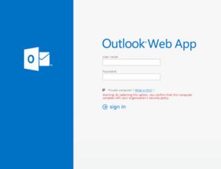 webmail.iss.it screenshot
