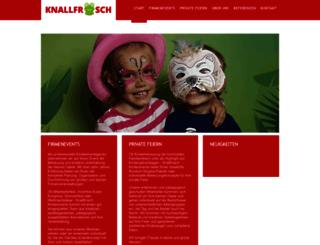 webmail.knallfrosch-kinderevents.de screenshot