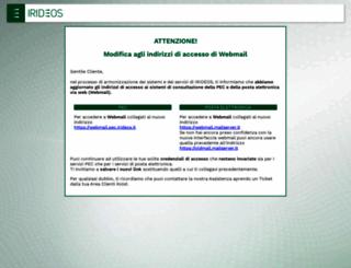 webmail.kpnqwest.it screenshot
