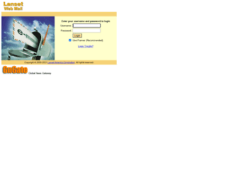 webmail.lanset.com screenshot