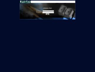 webmail.lifegate.it screenshot