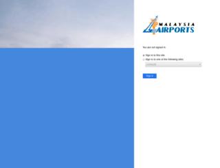 webmail.malaysiaairports.com.my screenshot