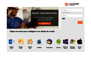 webmail.mandic.com.br screenshot