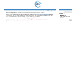 webmail.massagetherapy.com screenshot