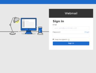 webmail.maxim-integrated.com screenshot