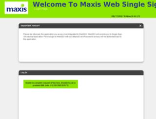 webmail.maxis.com.my screenshot