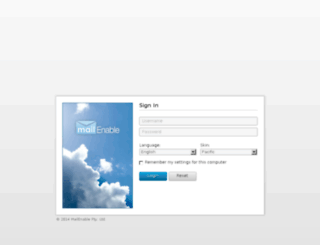 webmail.melondeals.com screenshot