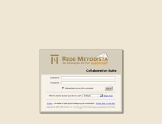 webmail.metodistadosul.edu.br screenshot